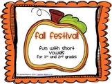 Fall Festival!  Fall Autumn Theme Short Vowel Literacy Packet