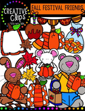 Fall Festival Friends {Creative Clips Digital Clipart}