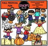 Fall Festival Fun Clip Art Bundle {Educlips Clipart}