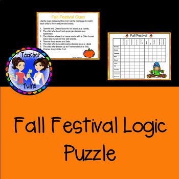 Fall Festival Logic Puzzle