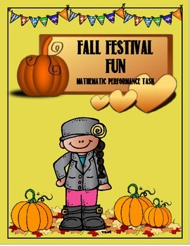 Fall Festival Math Performance Task