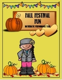 Fall Festival and Halloween Party Math Performance Task Combo