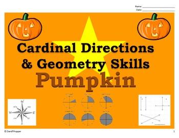 Fall Pumpkin - Cardinal (Map) Directions and Geometry (Lin
