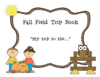 Fall Field Trip Book Craftivity