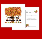 Fall Field Trip Permission Forms