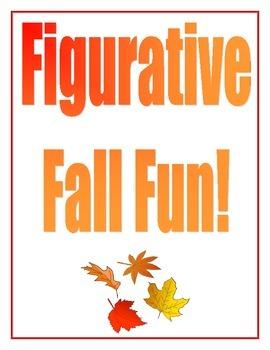 Fall Figurative Language Activity