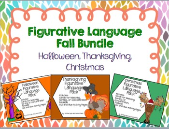 Fall Figurative Language Bundle
