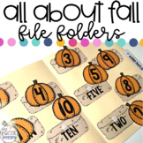 Fall File Folder Activities for Special Education