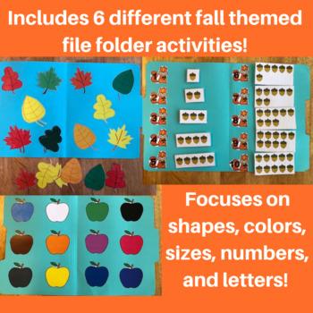 Fall File Folder Activities