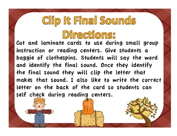 Fall Final Sound Clip It
