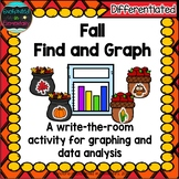 Fall Find and Graph: A Differentiated Math Center