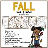 Fall Find and Solve: An Addition Math Center / Activity