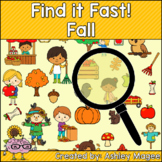 Fall Find it Fast Card Game