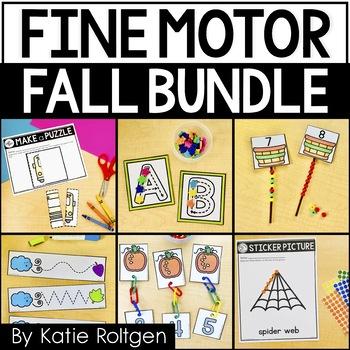 Fall Fine Motor Activities Bundle