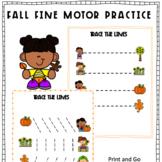 Fall Fine Motor Pre-Handwriting Activities