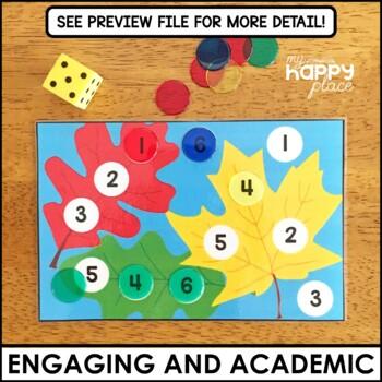 Fall Fine Motor Skills Task Boxes