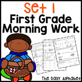 First Grade Morning Work Set 1