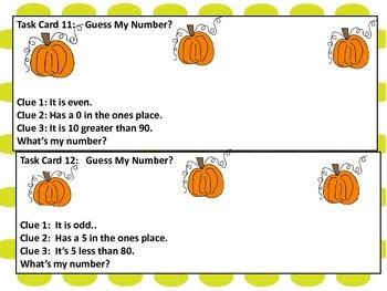First Grade Problem Solving Task Cards