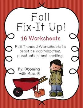 Fall Fix It Up