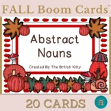 Fall Flair Abstract Nouns Boom Cards™