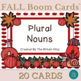 Fall Flair Plural Nouns Boom Cards™