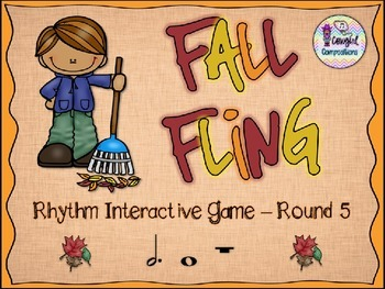 Fall Fling - Round 5 (Dotted Half Note and Whole Note/Rest)