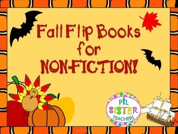 Fall Flip Books for Non- Fiction