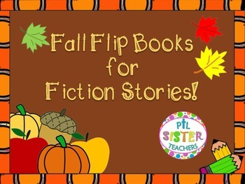 Fall Flip Books for any Fiction Story
