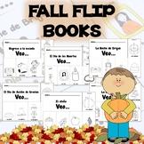 Spanish Fall Flip Books