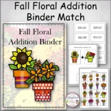 Fall Floral Addition Binder Match