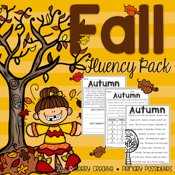 Fall Fluency Pack