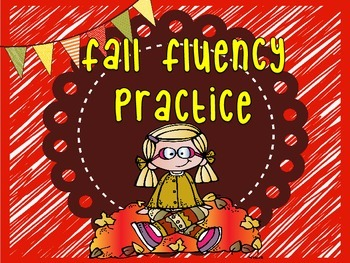Fall Fluency with Sight Words