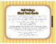 Fall Foilage Blank Task Card