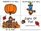 Fall Foldable Early & Emergent Readers ~Set of 10~ Color & B&W *CC Aligned
