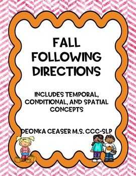 Fall Following Directions