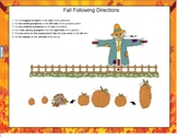 Fall Following Directions for SMART Board