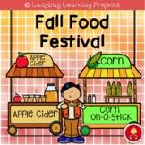 Fall Food Festival Emergent Reader Set