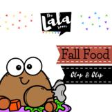 Fall Foods Clap & Clip