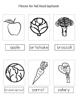 Fall Foods & Harvest Lapbook Pack