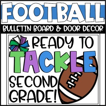 Fall Football Bulletin Board or Door Decoration