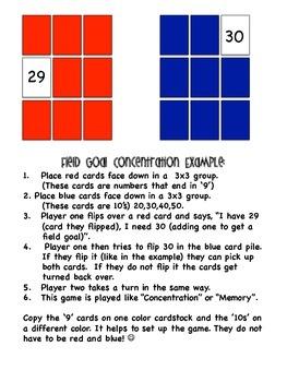 Fall Football Common Core Math Stations 1st Grade