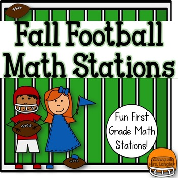 Fall Football Common Core Math Stations 1st Grade