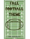 Fall Football Fun