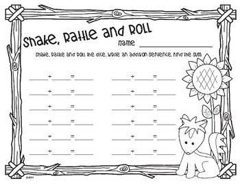 Fall Forest Friends Shake, Rattle and Roll