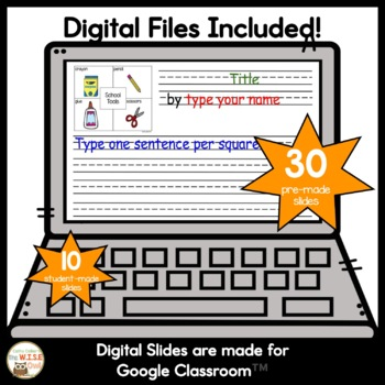 4 Square Writing Fall Packet