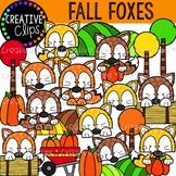 Fall Fox Friends {Fall Clipart}