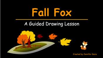 Fall Fox Painting