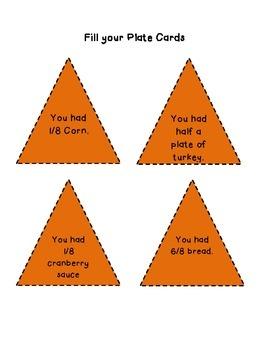 Fall Fractions Dinner Plate