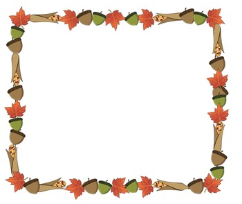 Fall Frame Freebie