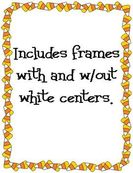 Fall Frame Freebie! Candy Corn and Harvest Corn Duo